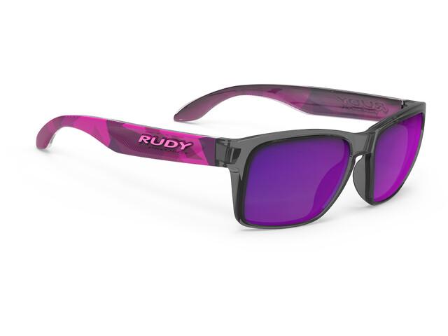Rudy Project Spinhawk Slim Cykelbriller violet/sort (2019) | Glasses
